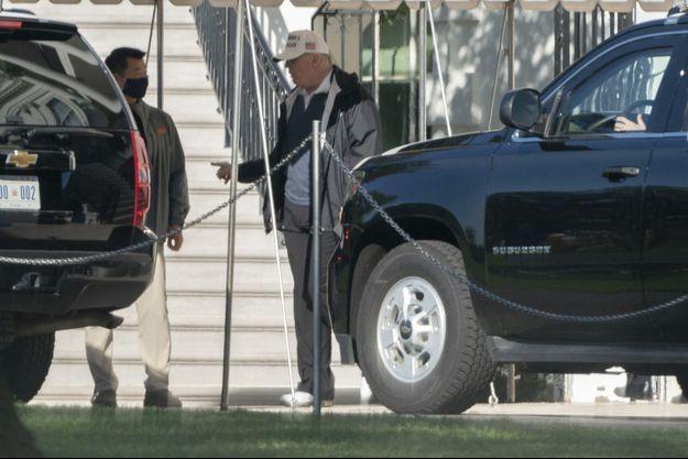 Donald Trump a quitté samedi matin la Maison Blanche, direction la Virginie pour faire un golf.