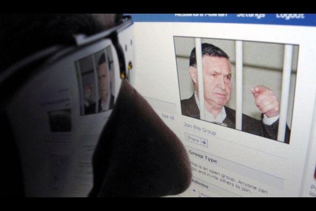 La page Facebook des fans de Toto Riina, ancien chef de la Cosa Nostra, la mafia sicilienne