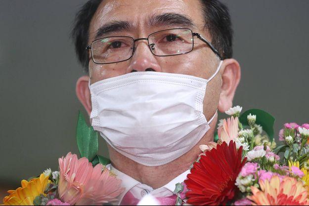 Thae Yong Ho à Séoul, le 16 avril 2020.