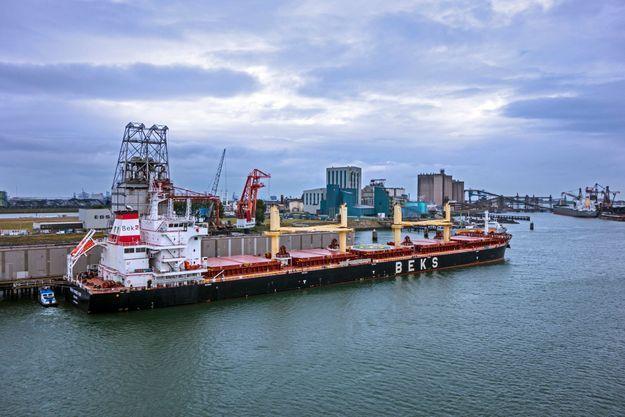Le port de Rotterdam.