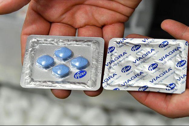 Des pilules de Viagra en Allemagne (image d'illustration).