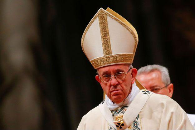 Pape François au Vatican le 6 janvier 2017