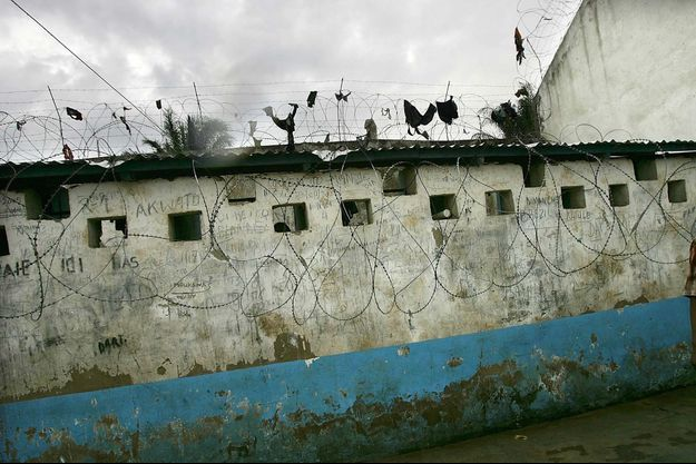 Les conditions de vie dans les prisons congolaises sont souvent éprouvantes, comme ici à Bunia.