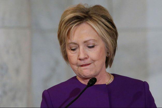 Hillary Clinton à Washington, le 8 décembre 2016.