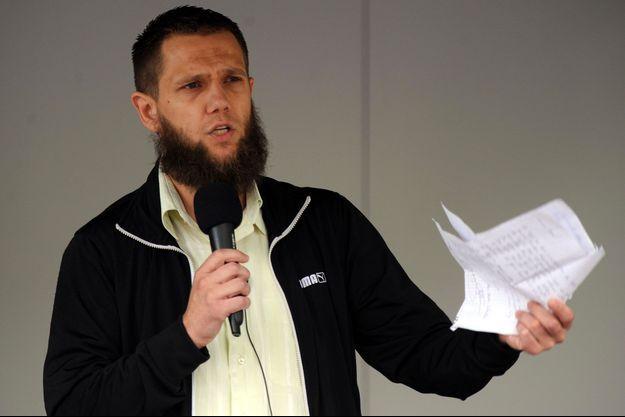 Le salafiste Sven Lau en juin dernier.