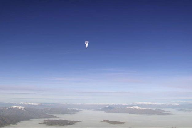 Un des ballons Loon de Google.