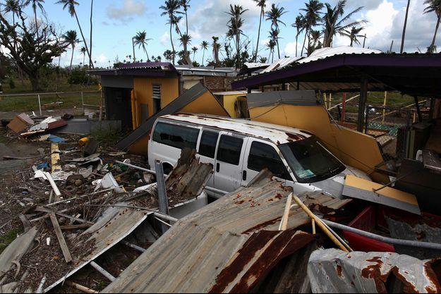 Il y a quelques mois, l'ouragan Maria avait totalement dévasté Porto Rico.