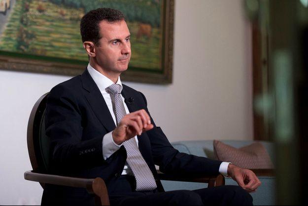 Le président syrien Bachar el-Assad, photographié en juillet 2016.