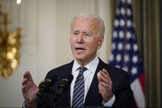 Joe Biden le 15 mars.