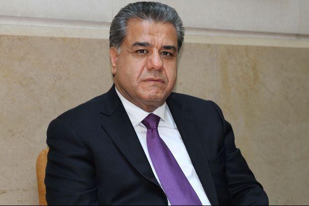 Falah Mustafa, 50 ans, dans son hôtel parisien le 5 juin.