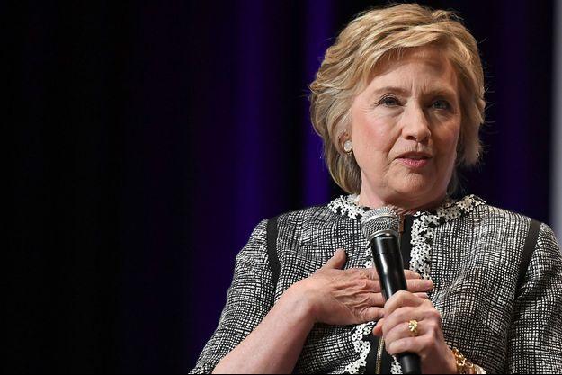 Hillary Clinton, en juin 2017 à New York