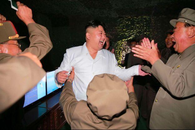 Kim Jong-un sur un cliché non daté, diffusé le 25 août par le gouvernement de la Corée du Nord.