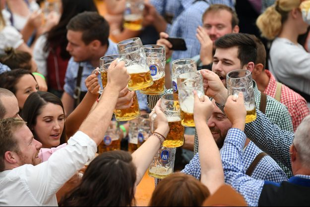 L'Oktoberfest à Munich, ce week end.