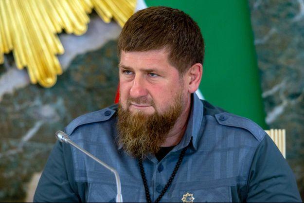 Le dirigeant de la république russe de Tchétchénie, Ramzan Kadyrov, en août.