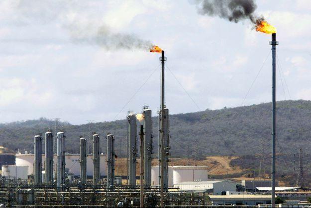 La raffinerie de Jose au Venezuela.