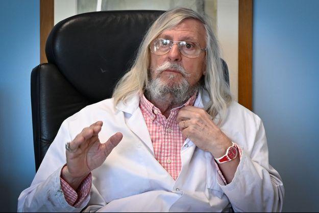 Le professeur Didier Raoult à Marseille le 26 février 2020