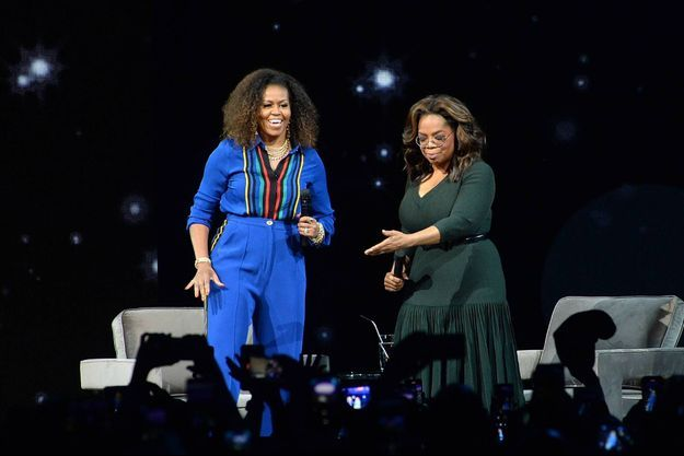 Michelle Obama, Oprah Winfrey