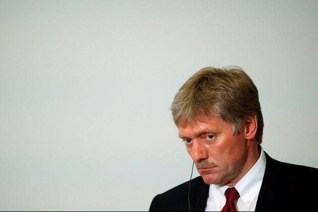 Le porte-parole du Kremlin Dmitri Peskov.