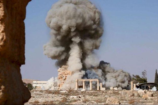 Dimanche 23 août, les islamistes font sauter le temple de Baalshamin à Palmyre, édifié au début du 1er siècle de notre ère.