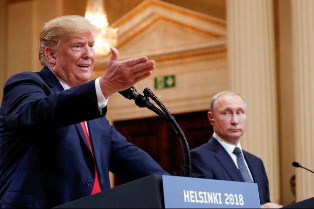 Donald Trump, Vladimir Poutine