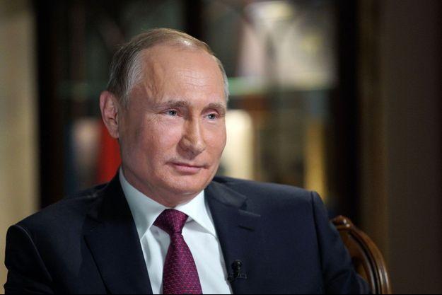 Vladimir Poutine, en février 2018 à Moscou.