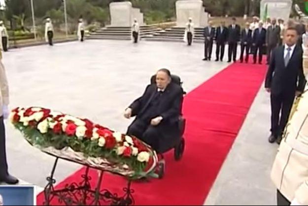Le président algérien Abdelaziz Bouteflika n'était pas apparu en public depuis un an.