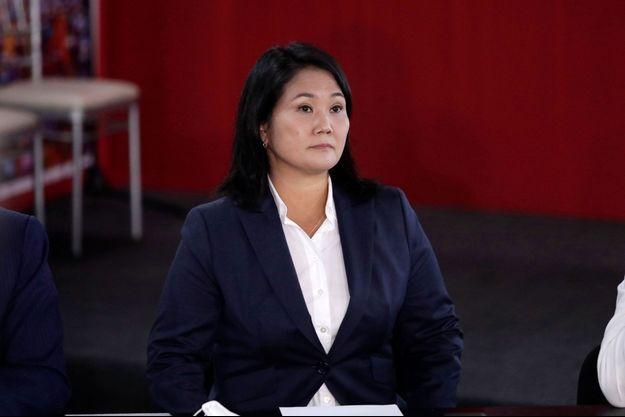 Keiko Fujimori à Lima, le 9 juin 2021.