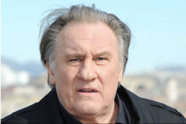 Gérard Depardieu en février 2018.