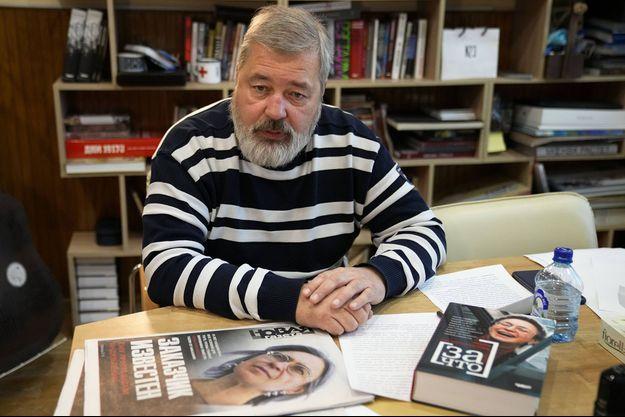 Le journaliste russe Dmitri Mouratov