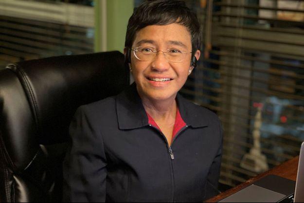 La journaliste philippine Maria Ressa