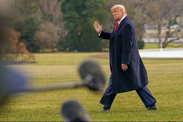 Donald Trump jeudi.