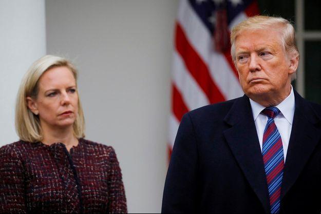Kirstjen Nielsen, Donald Trump