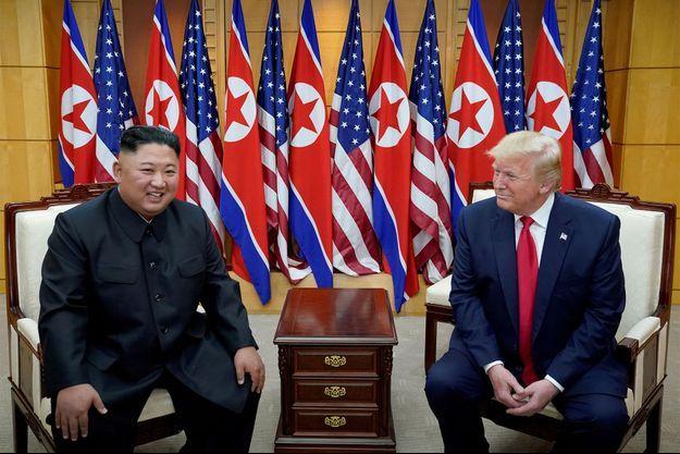 Donald Trump et North Korean en 2019.