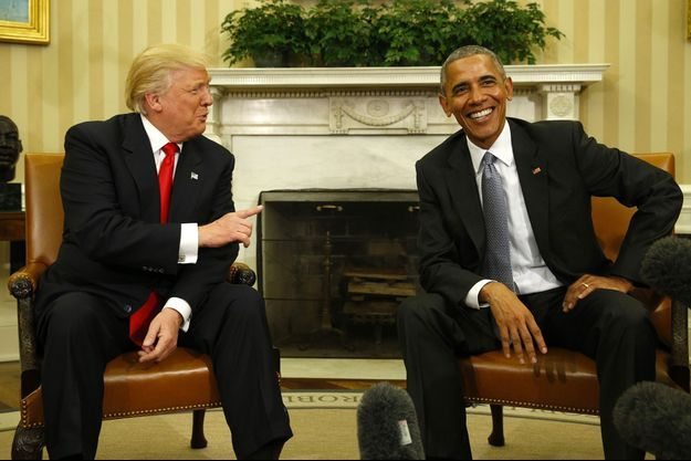 Donald Trump, Barack Obama