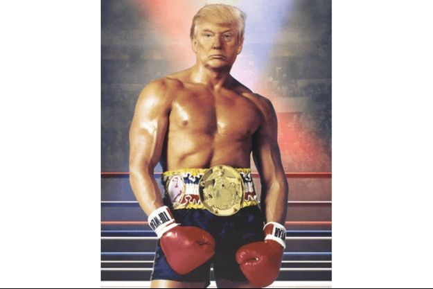 Donald Trump en Rocky Balboa.