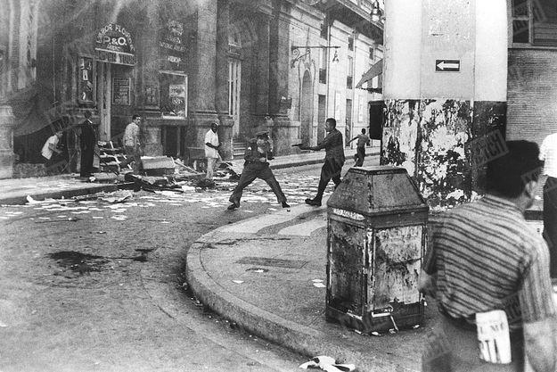 La prise de La Havane en 1959.