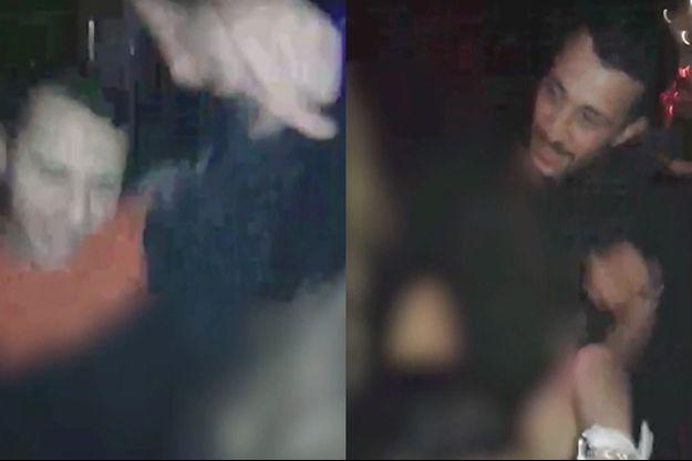 Salah et Brahim Abdeslam sur une vidéo diffusée par CNN (montage).