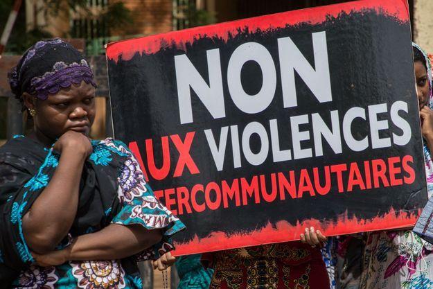 Manifestation en juin 2019 à Ouagadougou.