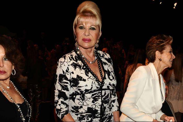 Ivana Trump photographiée en septembre 2016 à New York.