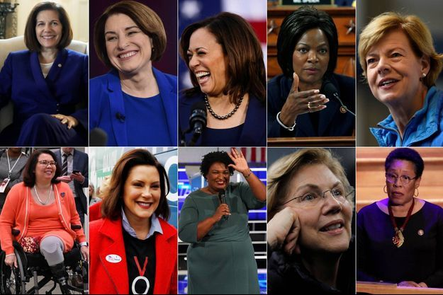 Catherine Cortez Masto, Amy Klobuchar, Kamala Harris, Val Demings, Tammy Baldwin Tammy Duckworth, Gretchen Whitmer, Stacey Abrams, Elizabeth Warren, Marcia Fudge