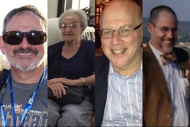 Richard Gottfried, Rose Mallinger, David Stein et Jerry Rabinowitz, sont quatre des onze victimes de la synagogue de Pittsburgh