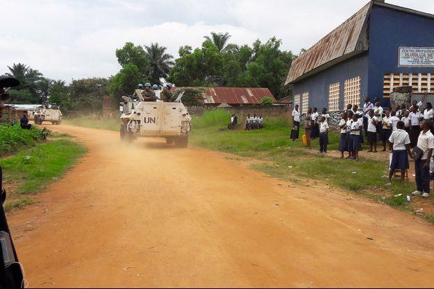 Des hommes de l'ONU en République démocratique du Congo le 11 mars dernier (image d'illustration).