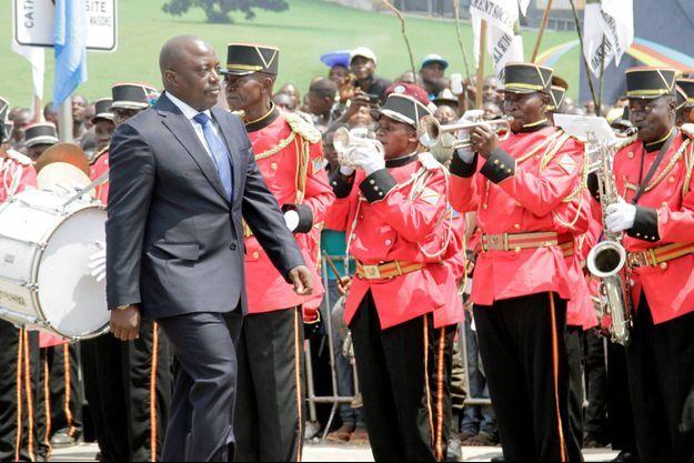 Le 30 juin 2016, Joseph Kabila préside sa dernière cérémonie pour l'anniversaire de l'indépendance de la République démocratique du Congo.