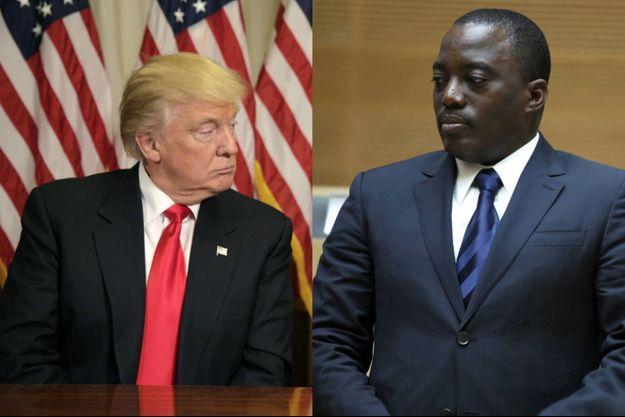 Joseph Kabila, ici en février 2013, espère que Donald Trump finisse par le laisser prendre racine à la tête de République démocratique du Congo