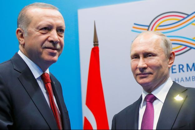 Recep Tayyip Erdogan, Vladimir Poutine