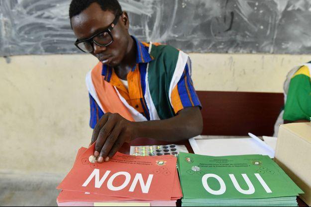 Les bureaux de vote, ici dans la banlieue d'Abidjan, le 30 octobre 2016, seront boudés par les partisans de l'opposition
