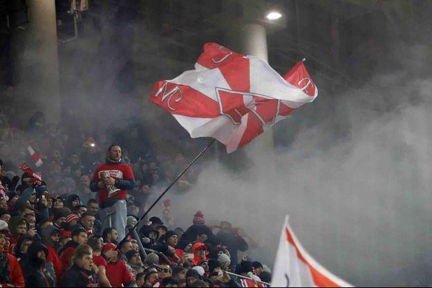 Des supporters du Spartak Moscou.