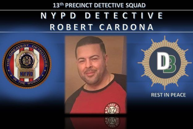 Le détective Robert Cardona est décédé à cause du Covid-19.