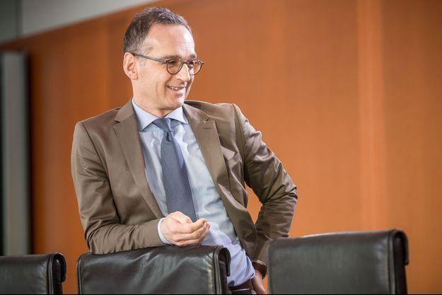 Le ministre allemand des Affaires étrangères, Heiko Maas, mercredi lors d'une réunion du gouvernement à Berlin.