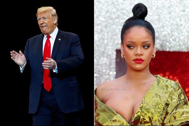 Donald Trump, Rihanna